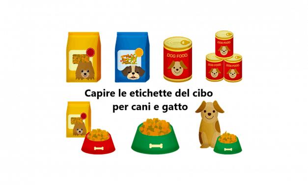 Come leggere le etichette del cibo per cani?